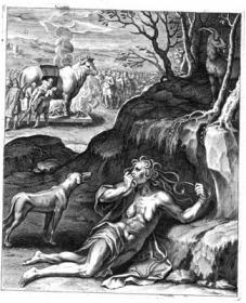 Grande malum invidia, Otto Vaenius, Q. Horatii Flacci Emblemata (1612)